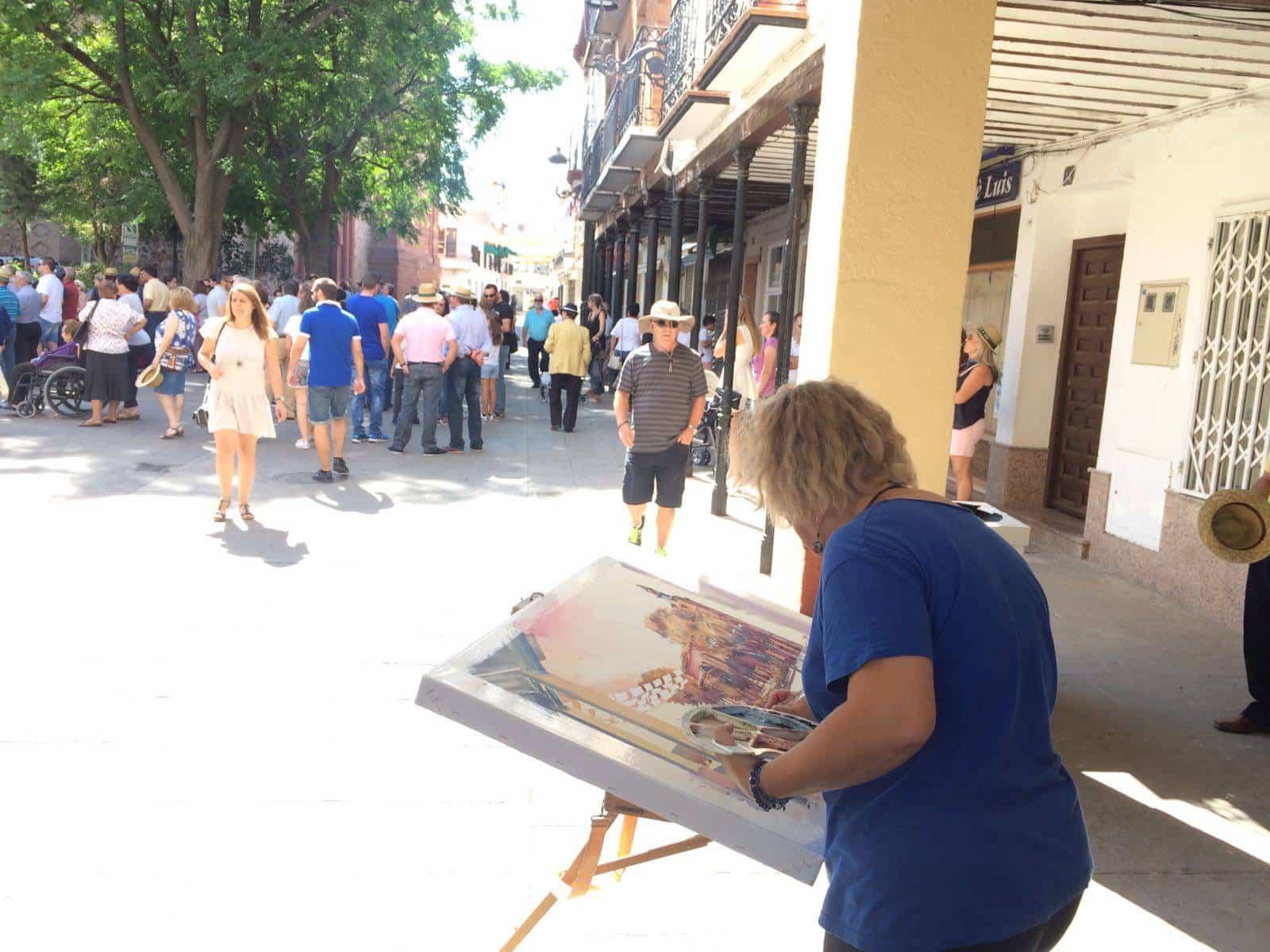 Concurso de Pintura Rápida 2017 en Herencia