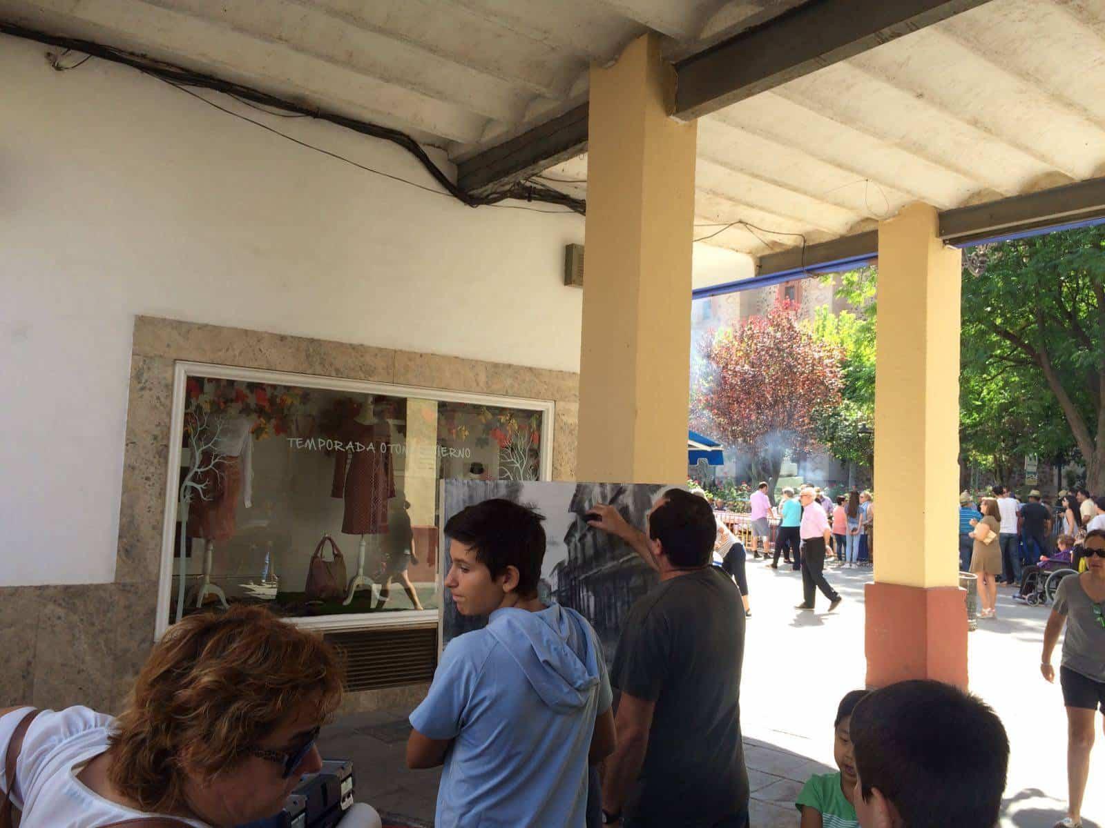 concurso pintura rapida 2017 feria herencia 3 - Fotografías del XI Certamen Nacional de Pintura Rápida