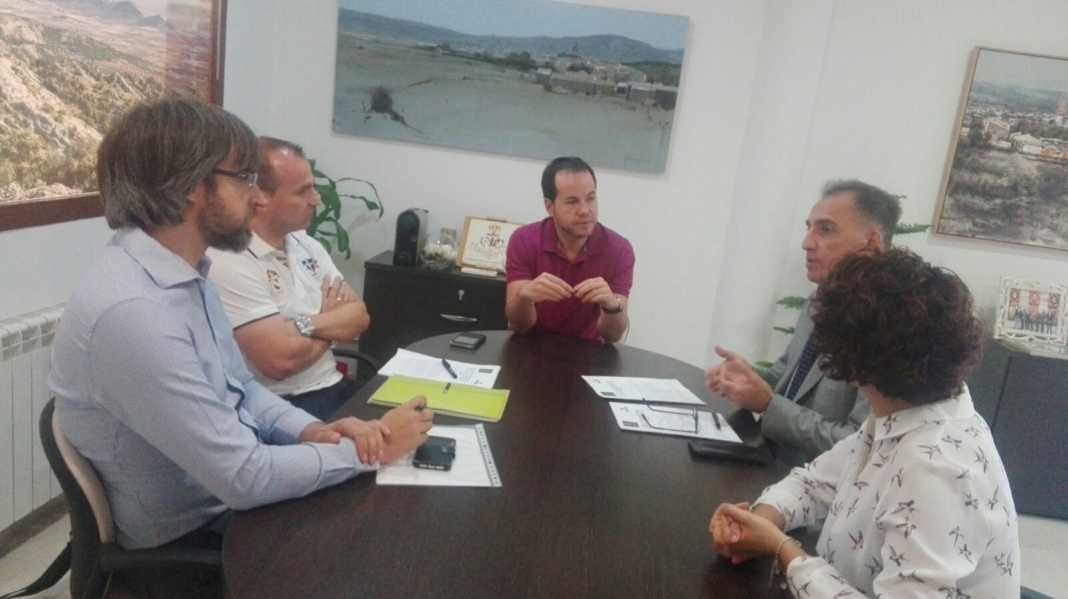Firma de convenio Itecam - Herencia