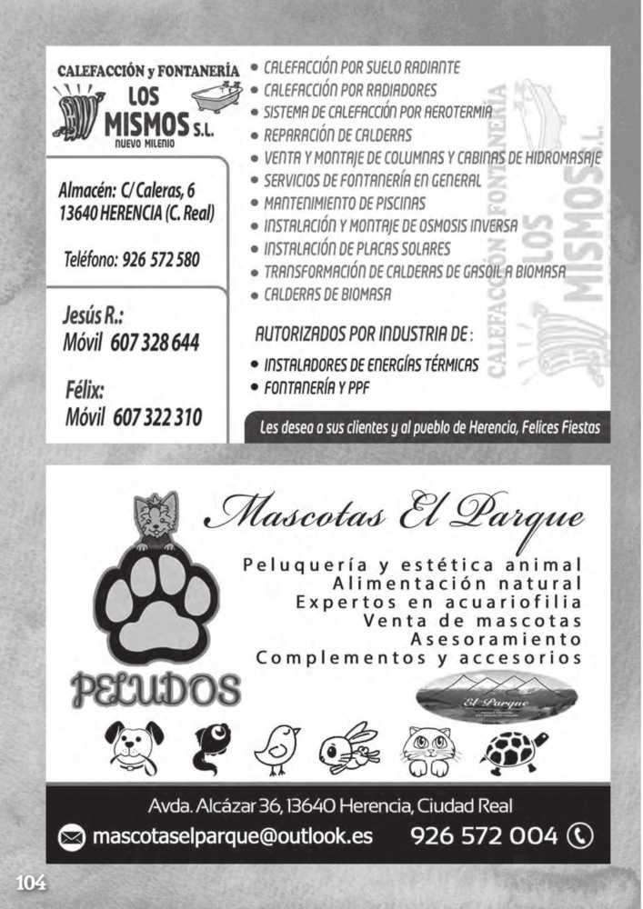 Programa oficial de la Feria y Fiestas de Herencia 2017 108