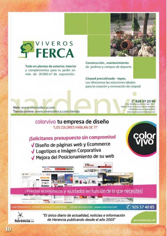 Programa oficial de la Feria y Fiestas de Herencia 2017 14