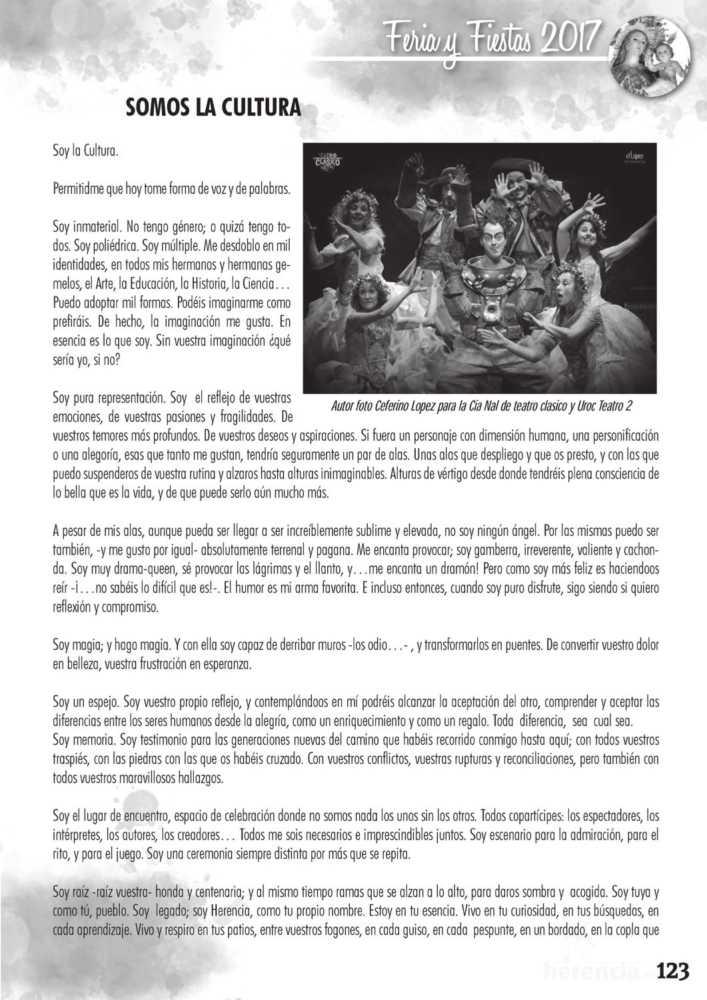 Programa oficial de la Feria y Fiestas de Herencia 2017 127