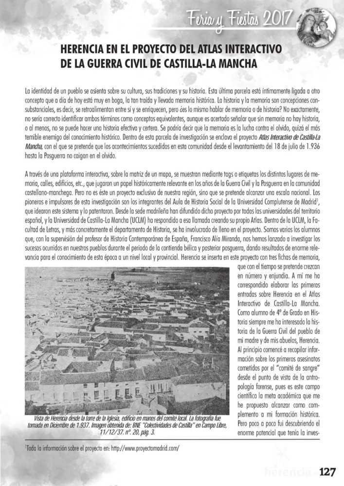 Programa oficial de la Feria y Fiestas de Herencia 2017 131