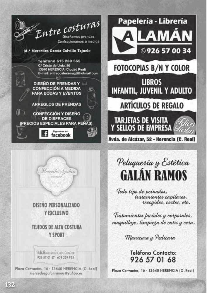 Programa oficial de la Feria y Fiestas de Herencia 2017 136