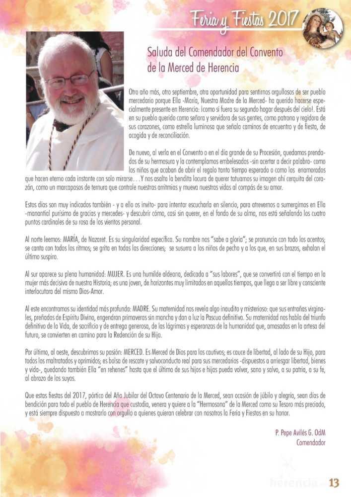 Programa oficial de la Feria y Fiestas de Herencia 2017 17