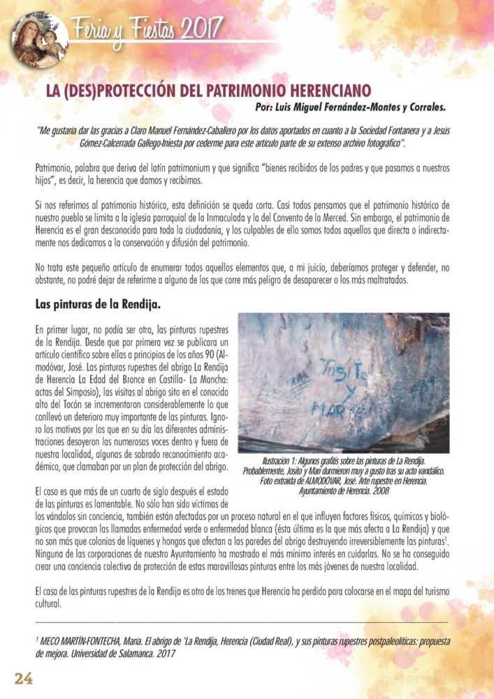 Programa oficial de la Feria y Fiestas de Herencia 2017 28