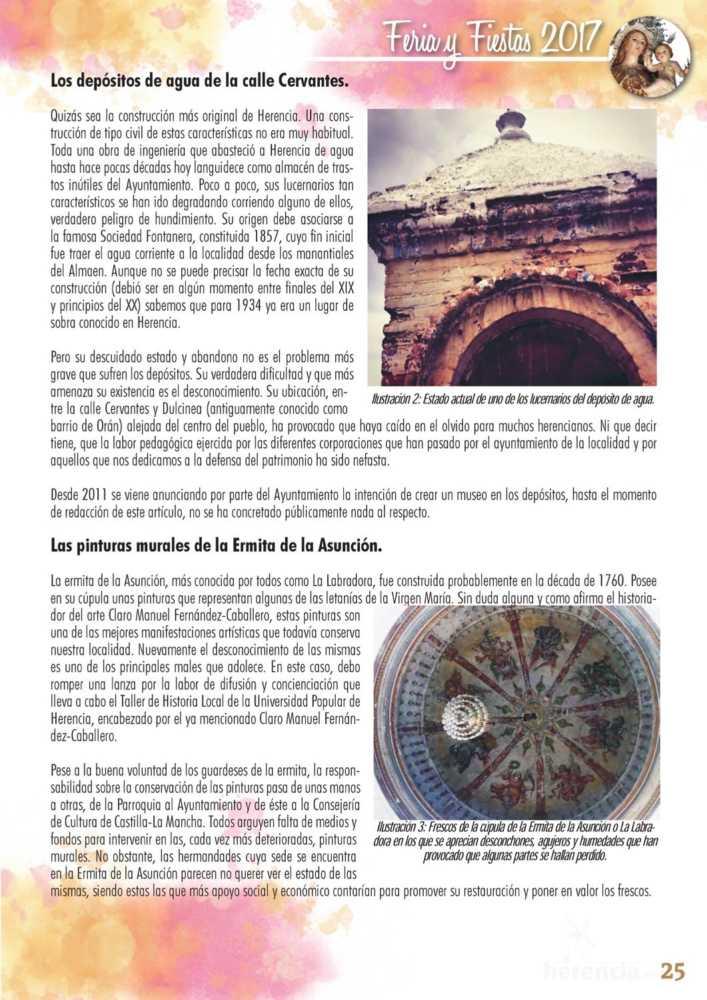 Programa oficial de la Feria y Fiestas de Herencia 2017 29