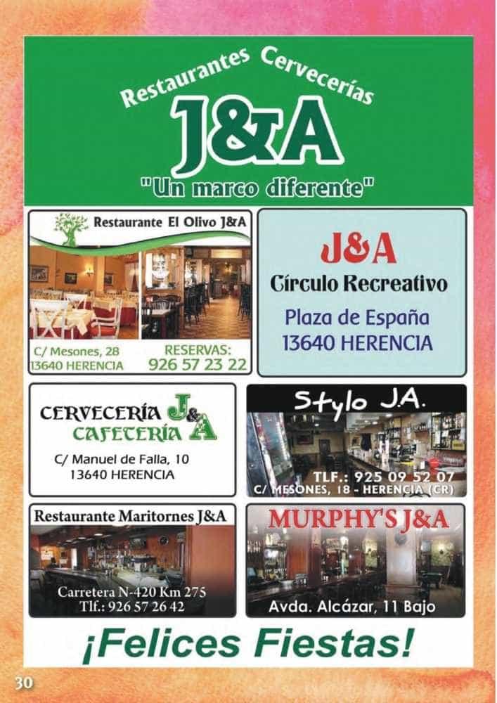 Programa oficial de la Feria y Fiestas de Herencia 2017 34