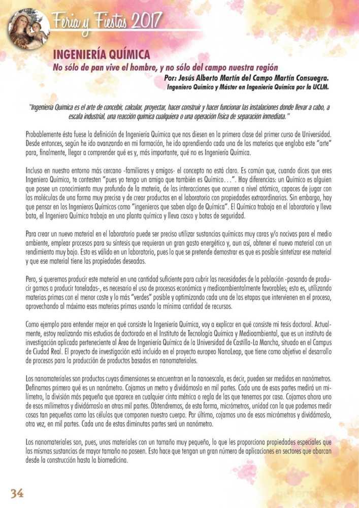 Programa oficial de la Feria y Fiestas de Herencia 2017 38