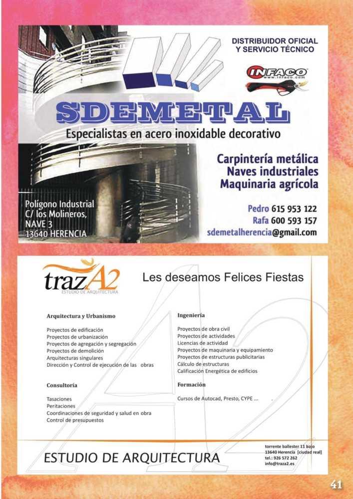 Programa oficial de la Feria y Fiestas de Herencia 2017 45