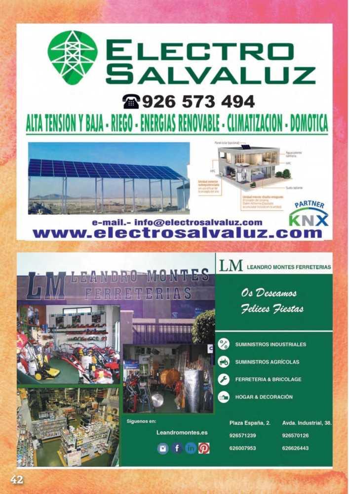 Programa oficial de la Feria y Fiestas de Herencia 2017 46