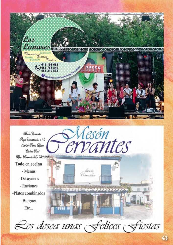 Programa oficial de la Feria y Fiestas de Herencia 2017 47