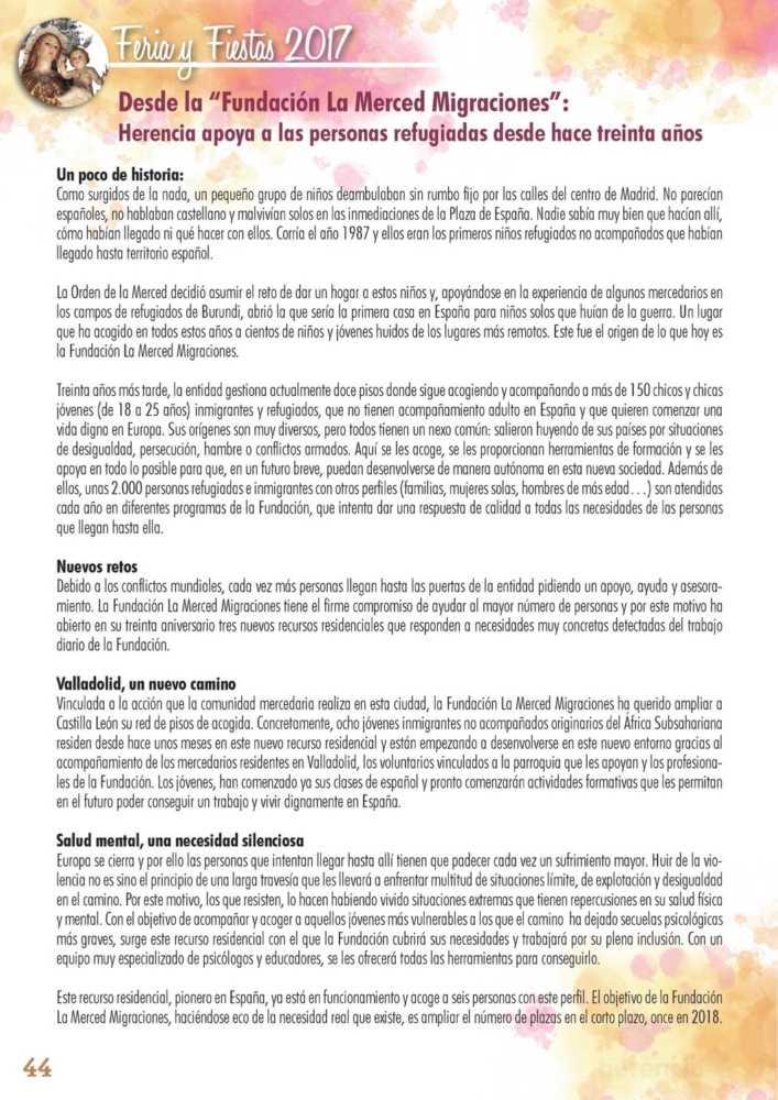 Programa oficial de la Feria y Fiestas de Herencia 2017 48