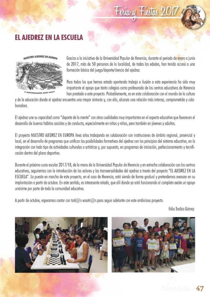 Programa oficial de la Feria y Fiestas de Herencia 2017 51