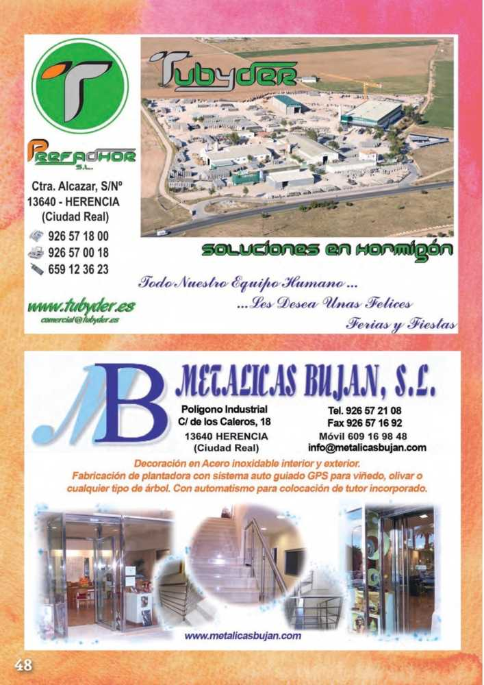 Programa oficial de la Feria y Fiestas de Herencia 2017 52