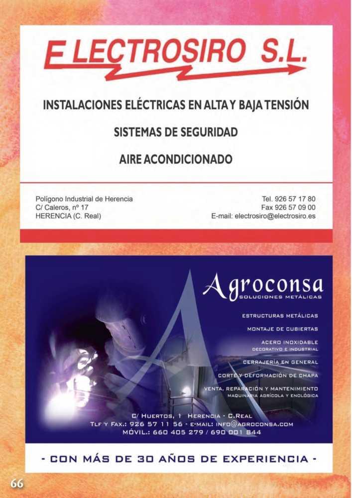 Programa oficial de la Feria y Fiestas de Herencia 2017 70