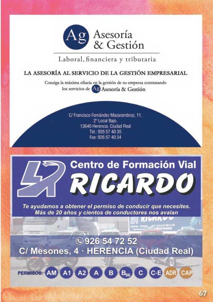 Programa oficial de la Feria y Fiestas de Herencia 2017 71