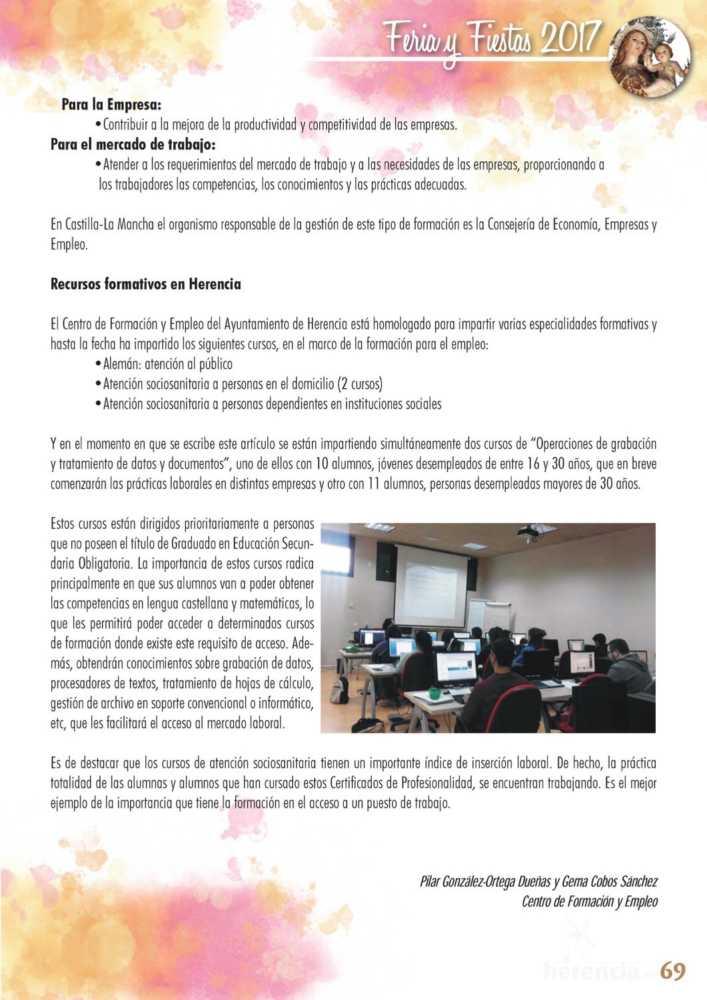 Programa oficial de la Feria y Fiestas de Herencia 2017 73