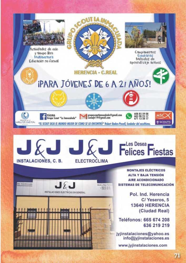 Programa oficial de la Feria y Fiestas de Herencia 2017 75