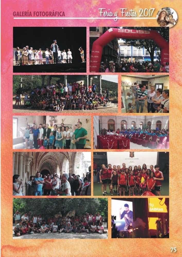 Programa oficial de la Feria y Fiestas de Herencia 2017 79