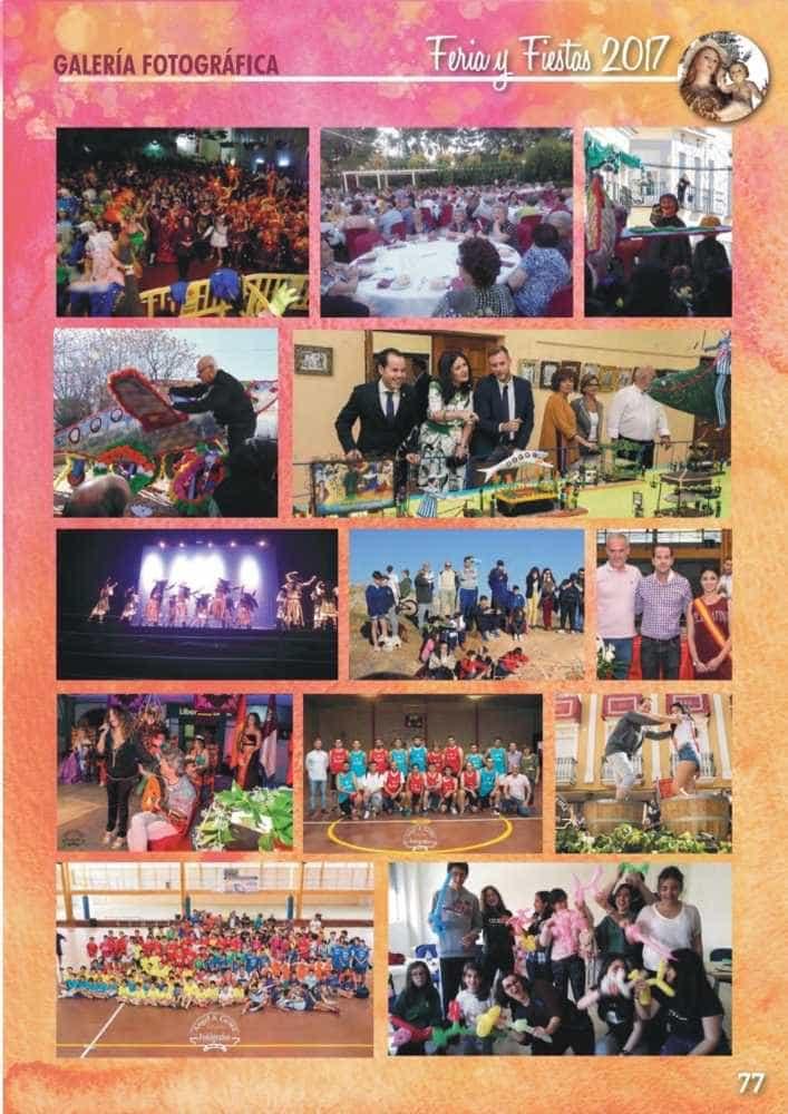 Programa oficial de la Feria y Fiestas de Herencia 2017 81