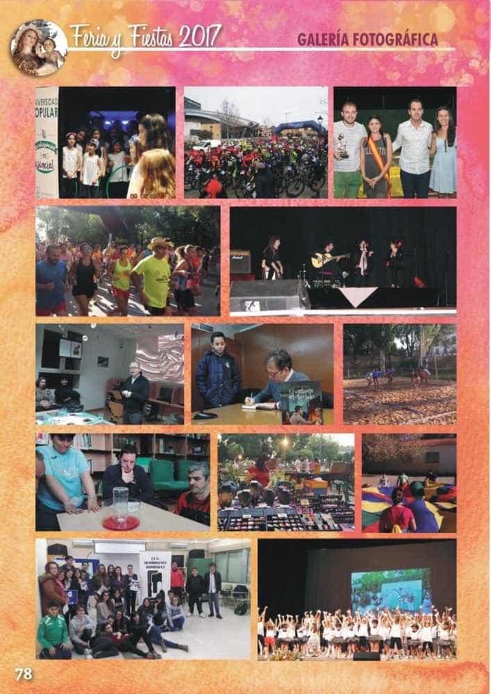 Programa oficial de la Feria y Fiestas de Herencia 2017 82