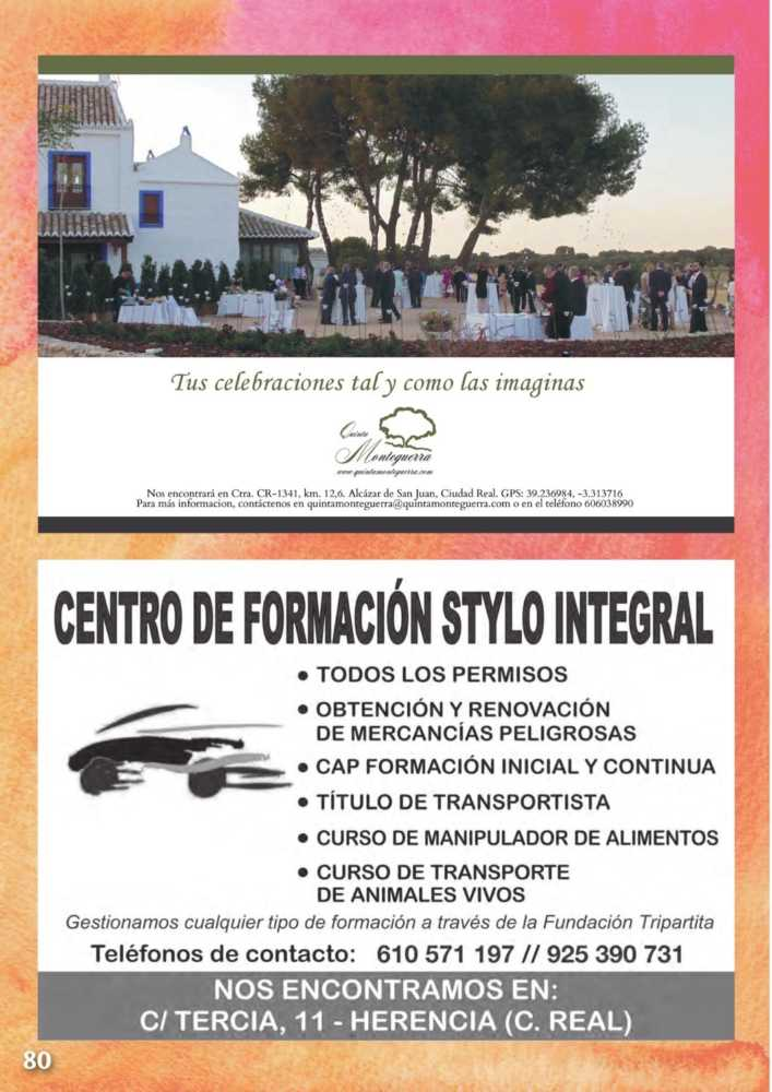 Programa oficial de la Feria y Fiestas de Herencia 2017 84