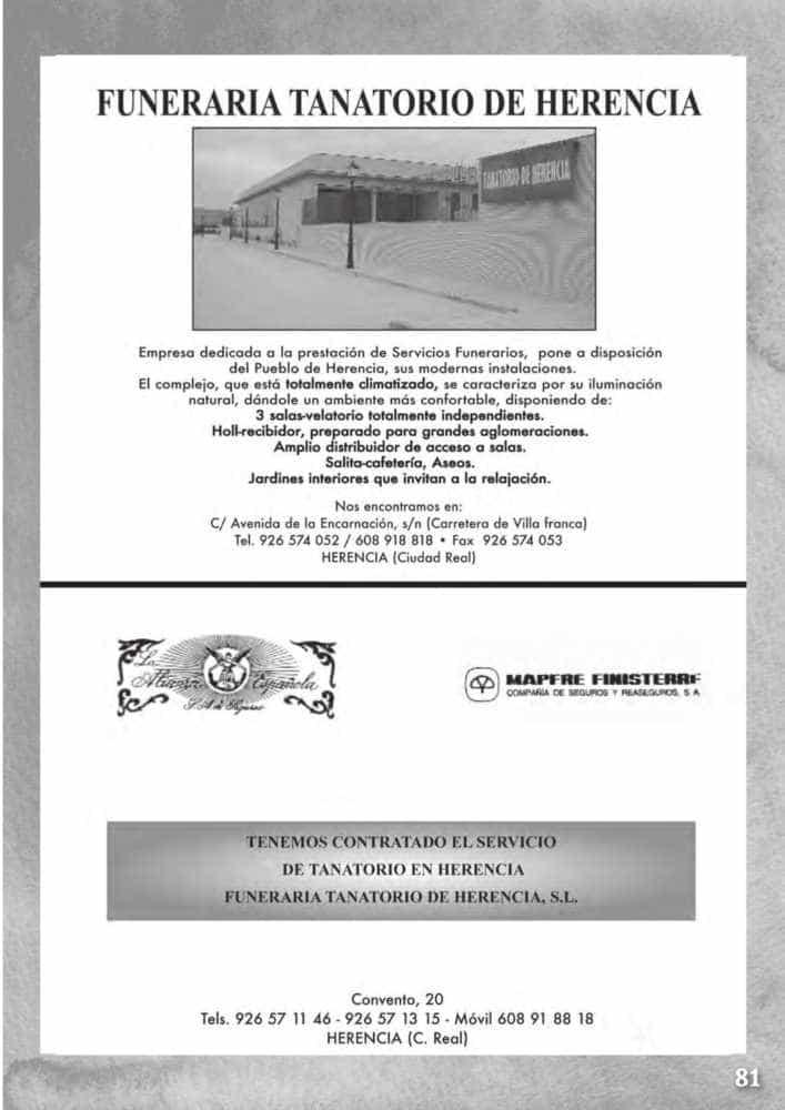 Programa oficial de la Feria y Fiestas de Herencia 2017 85
