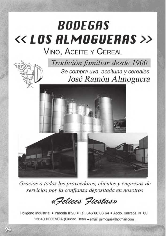 Programa oficial de la Feria y Fiestas de Herencia 2017 98