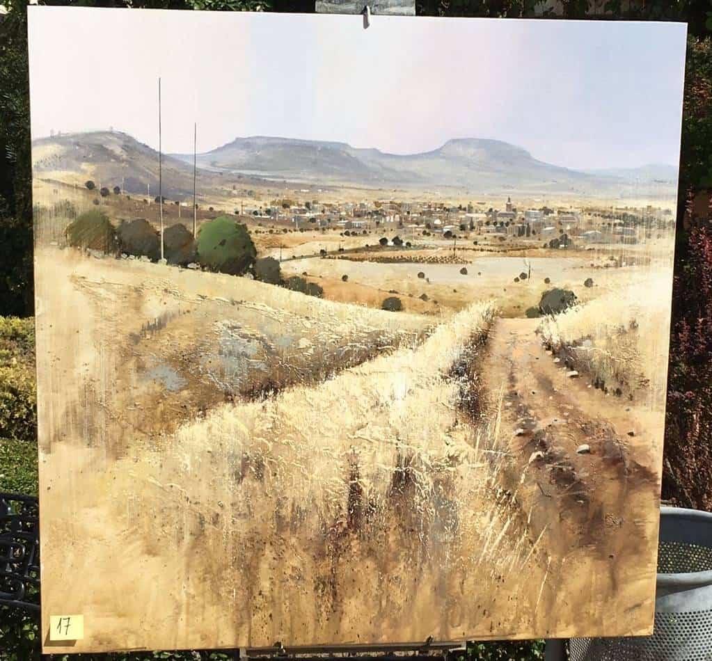 Orencio Murillo primer premio en XI Certamen de Pintura Rápida de Herencia
