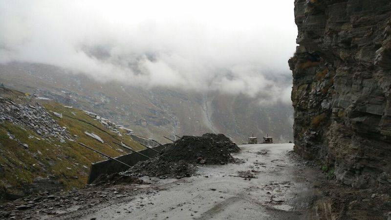 Perlé superando las cimas himalayas 41