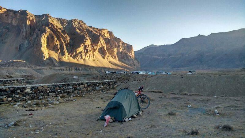 Perlé superando las cimas himalayas 43