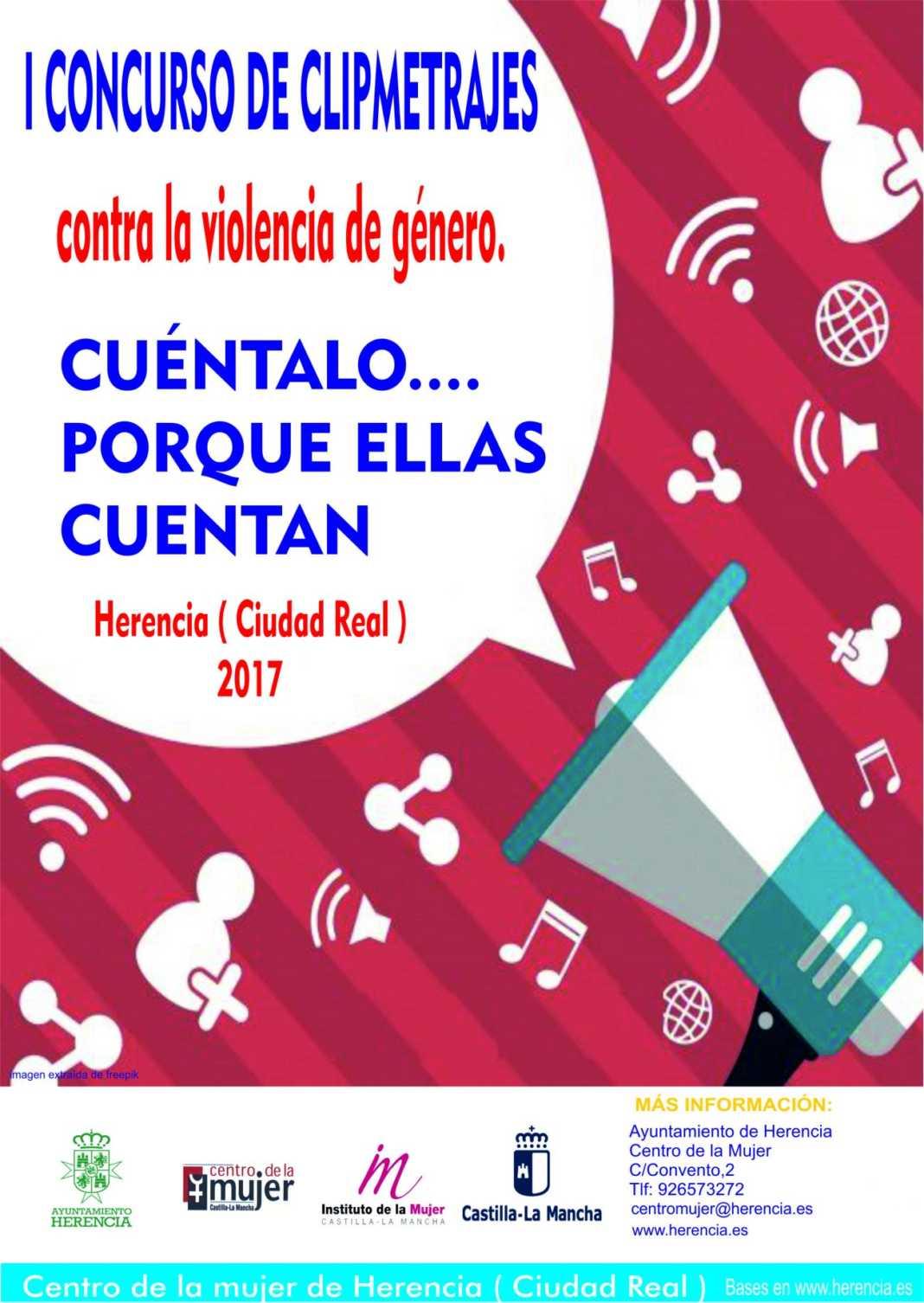 Cartel Clipmetrajes 1 1300x1833 1068x1506 - Concurso de Clipmetrajes contra la Violencia de Género