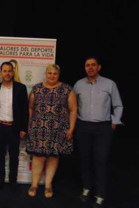 Patricia Ramírez, psicóloga deportiva, dio una conferencia en Herencia 11