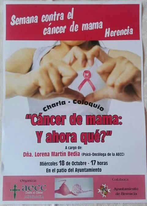 Semana contra el cáncer de mama en Herencia - Semana contra el cáncer de mama en Herencia