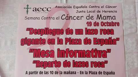 Semana contra el cáncer de mama en Herencia2 - Semana contra el cáncer de mama en Herencia
