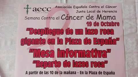 Semana contra el c%C3%A1ncer de mama en Herencia2 - Semana contra el cáncer de mama en Herencia