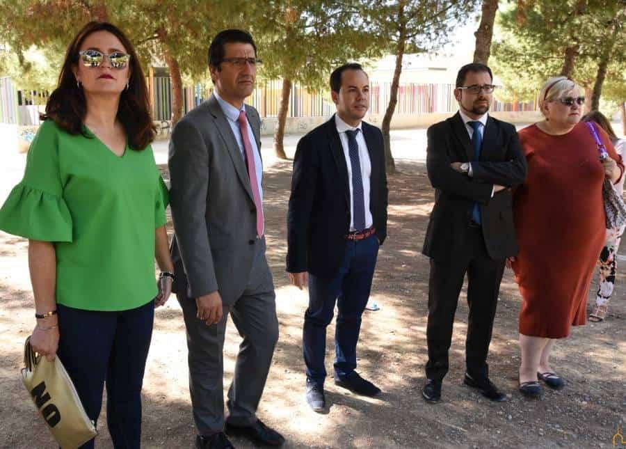 Visita - La Diputación invierte en lo que va de 2017 medio millón de euros en Herencia