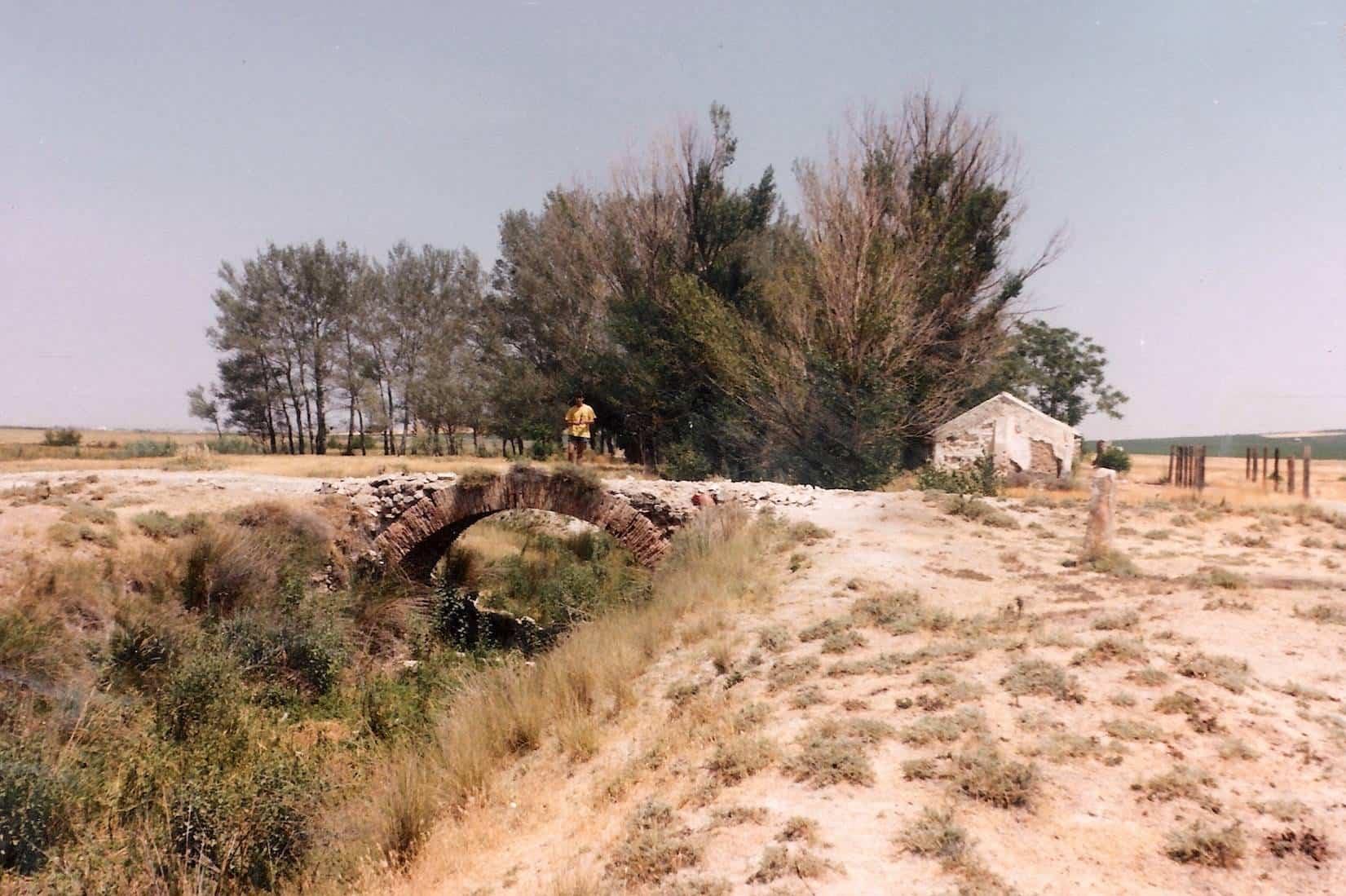 antigua foto de puente rondadias herencia alcazar - Herencia y Alcázar formalizan el convenio del Rondadías para completar 2019-2020
