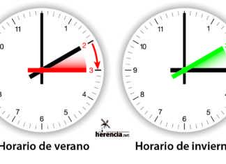Cambio de hora en España