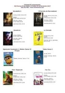 Programación Cinemancha del viernes 27 al jueves 02 1