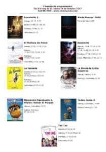 Cartelera Cinemancha del viernes 20 al jueves 26 de octubre 1