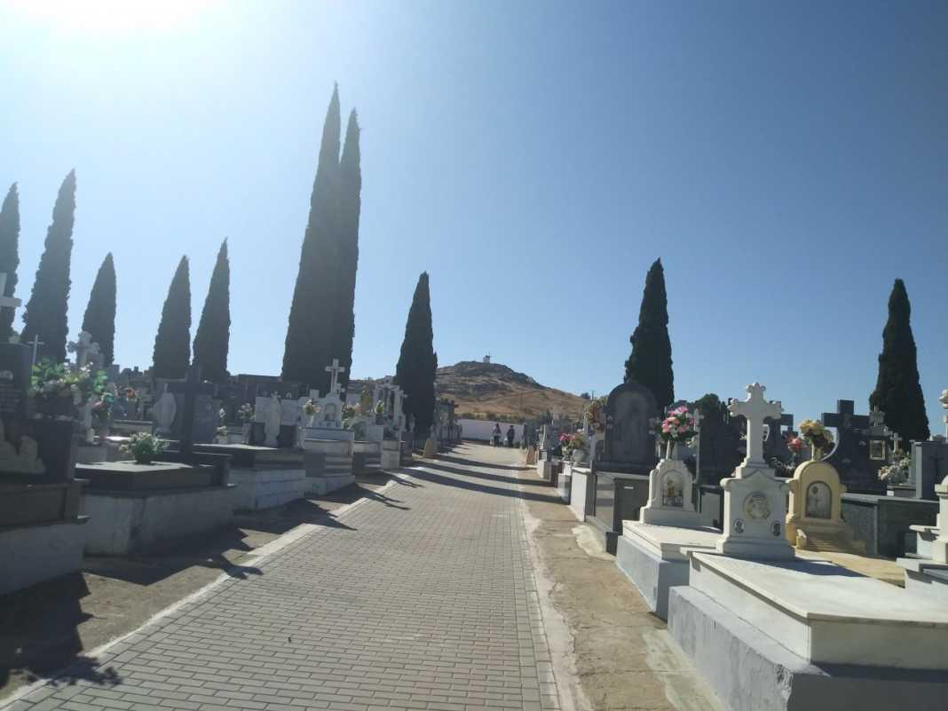 cementerio de herenciad 1068x801 - Las floristerías de Herencia amplían la campaña de Los Santos y el aforo del cementerio será de 100 personas esos días