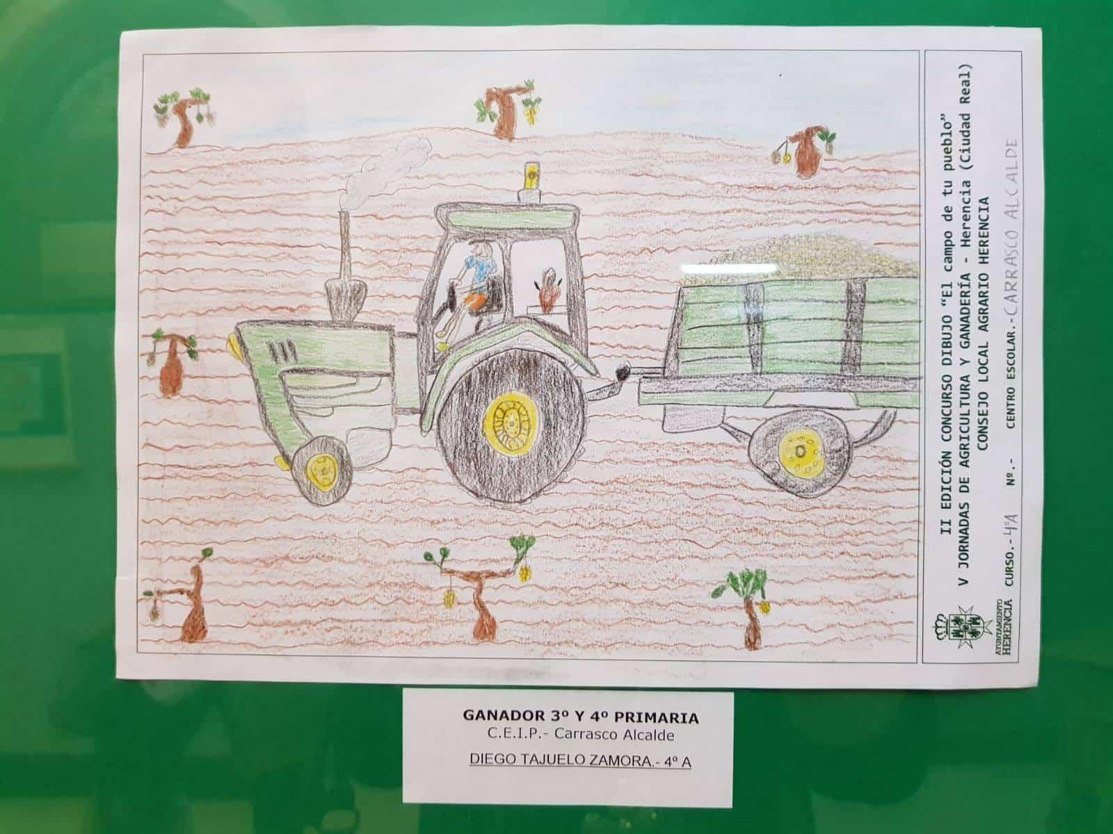"""el campo de tu pueblo herencia 2 - Premios del concurso local de dibujo """"El Campo de tu pueblo"""""""