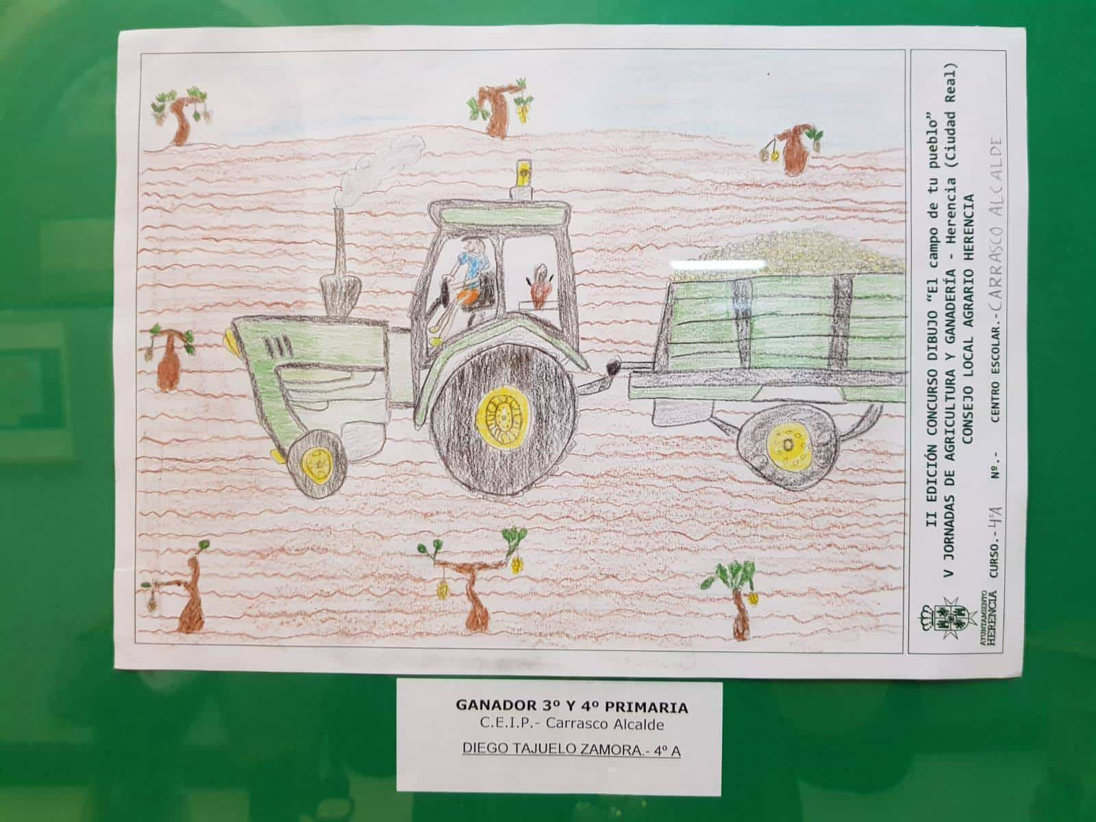 """Premios del concurso local de dibujo """"El Campo de tu pueblo"""" 11"""