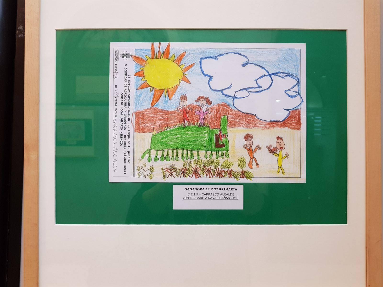 """el campo de tu pueblo herencia 3 - Premios del concurso local de dibujo """"El Campo de tu pueblo"""""""