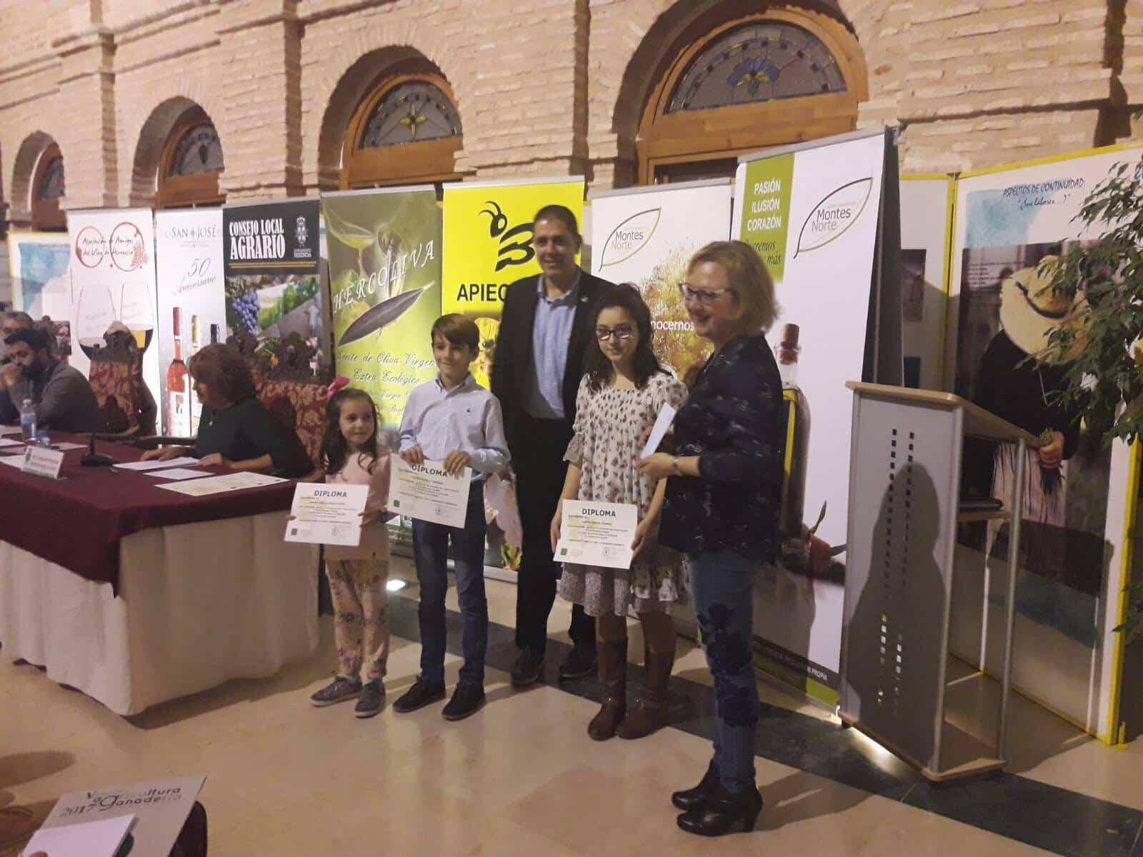 """el campo de tu pueblo herencia ganadores - Premios del concurso local de dibujo """"El Campo de tu pueblo"""""""