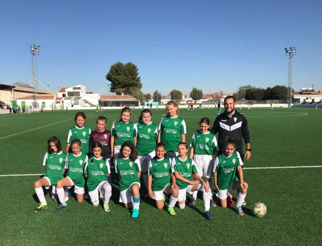 """escuelas deportivas herencia futbol femenino 1068x817 - Las escuelas deportivas de Herencia participarán en """"Interescuelas"""""""