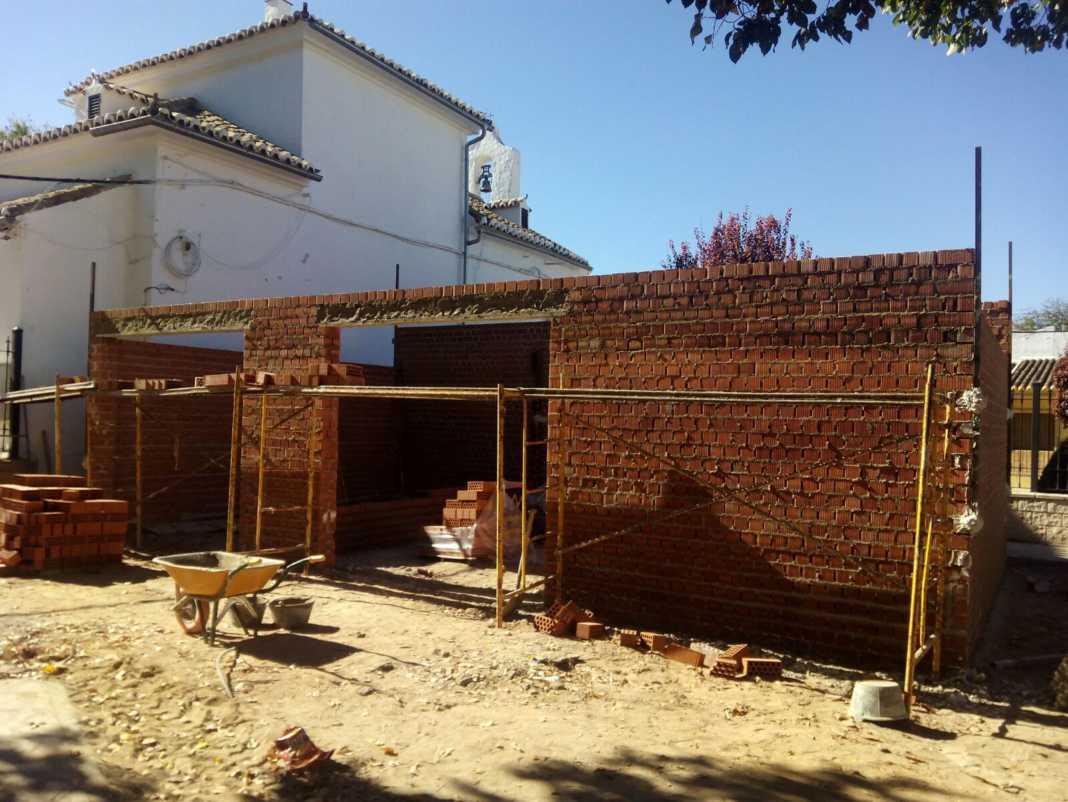 obras garaje proteccion civil ermergencias 1068x802 - Nuevo garaje para Protección Civil y emergencias del Centro de Salud