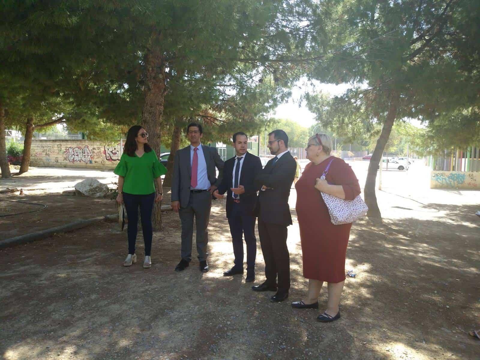 obras parque de la serna - La movilidad en el entorno urbano marca las prioridades en las actuaciones locales